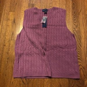 Charter Club Sweater Vest